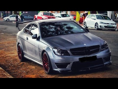 Prince Kaybee drives to Cape Town for fun in his C63 AMG