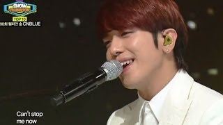 CNBLUE - Can't Stop, 씨엔블루 - 캔트스톱, Show Champion 20140319
