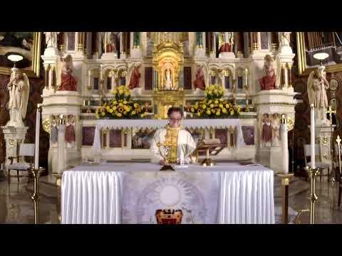 Uroczystość Najświętszego Ciała i Krwi Chrystusa, 14 Czerwiec, 2020