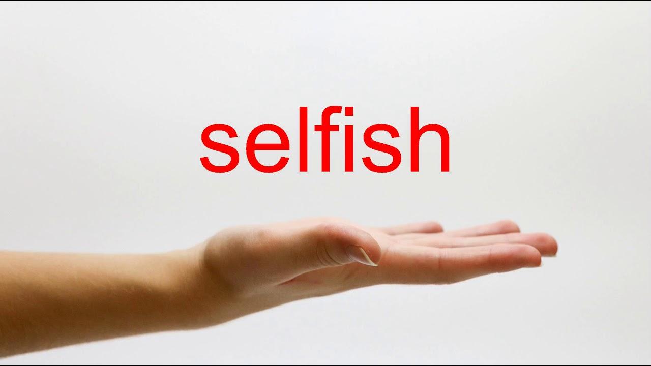 How to Pronounce selfish - American English - YouTube