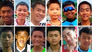 Boys rescued from Thai cave gain worldwide attention