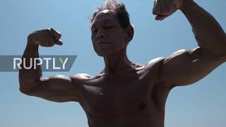 Never too late to hit the gym - Meet the 82 y.o. Hiroshima bodybuilder more shredded than you