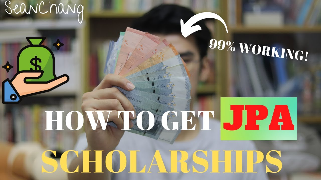How To Get Jpa Scholarship 99 Working Malaysia University Local Private Ptptn Youtube