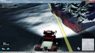 Snowcat Simulator HD gameplay