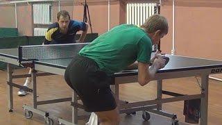 Дмитрий БОБРОВ vs Андрей БУКИН, ФИНАЛ, Турнир Master Open, Настольный теннис, Table Tennis