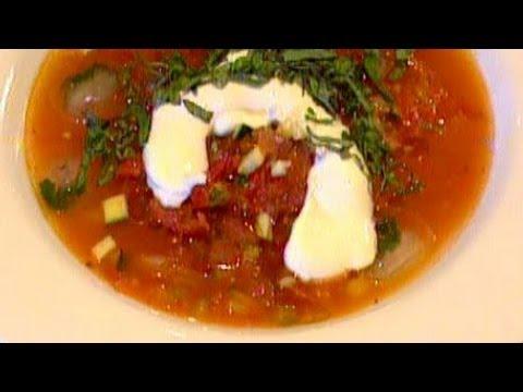 Cold Tomato Soup Recipe