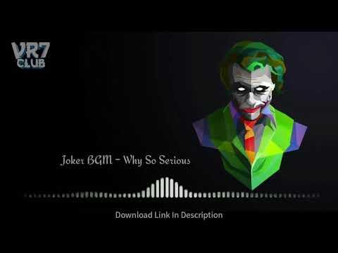 🃏JOKER BGM-Why So Serious? Ringtone WhatsApp Status Download/ VR7 CLUB