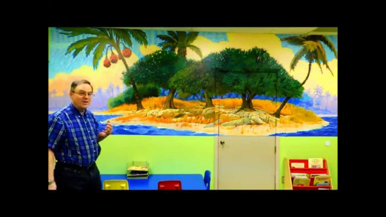 seven days of creation mural series quick tour day 3 youtube