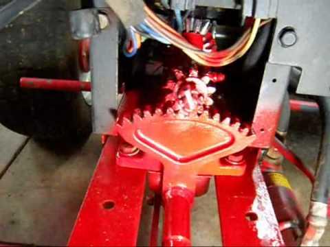 Wheel Horse 520 H STEERING REPAIR 2