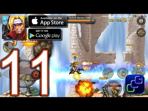 Metal Slug XX Online Android iOS Walkthrough - Part 11 - Chapter 8: Arid Land, Steel Fortress