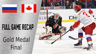 Canada vs Russia Gold Medal Highlights | January 5th, WJC 2020
