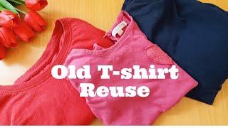 Old T-shirt Reuse Idea | DIY Easy Head Band From Old Cloths | Stylish Handmade Hair Band