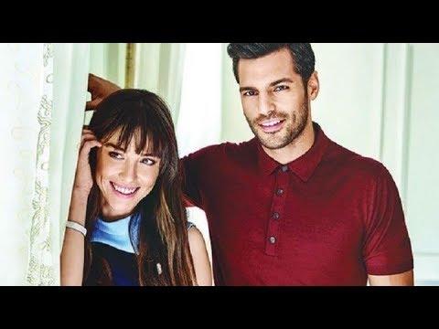 Ozge Gurel and Serkan Cayoglu  LOVE STORY Oyku ve Ayaz (Kiraz Mevsimi)