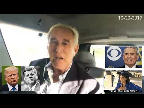 Roger Stone Latest News and Current Events October 20th, 2017