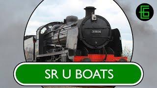 STEAM LOCOS IN PROFILE - Volume One - DVD Sample - Southern U-Boats(Order 'Steam Locos In Profile - Volume One' on DVD HERE: http://www.e-gmedia.co.uk/#!shop/c1j0l., 2015-01-02T01:47:08.000Z)