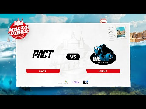 VOD: lvlUP vs PACT-Eden Arena Malta Vibes Group B-Map1