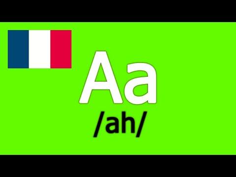 Alphabet Français  French Alphabet  Abecedario Francés