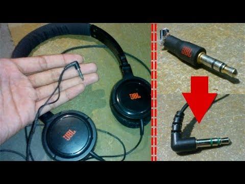 How to repair headphones (replace the headphone jack)