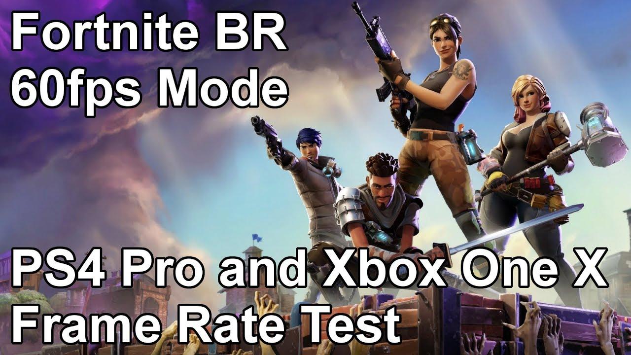 Fortnite Battle Royale 60 FPS Mode Runs Great On Both PlayStation 4