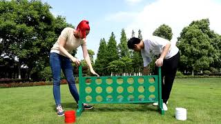 garden games Giant Connect 4 OEM OR ODM