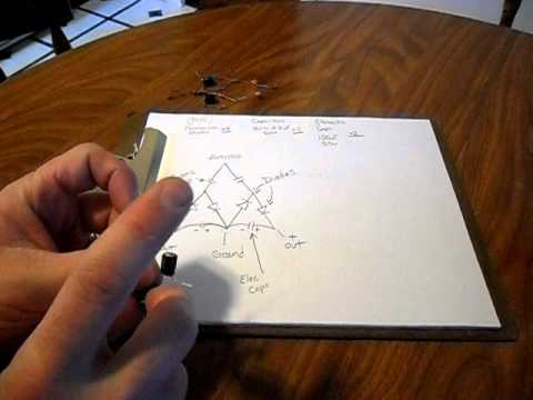 "Nikola Tesla ""free energy from air"" circuit explained and building instructions."