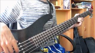 Asking Alexandria - Not The American Average(bass Cover)