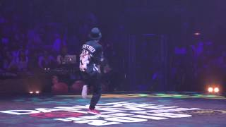 SHUHO vs GUCCHON BEST8 FREESTYLE / DANCE@LIVE 2015 FINAL