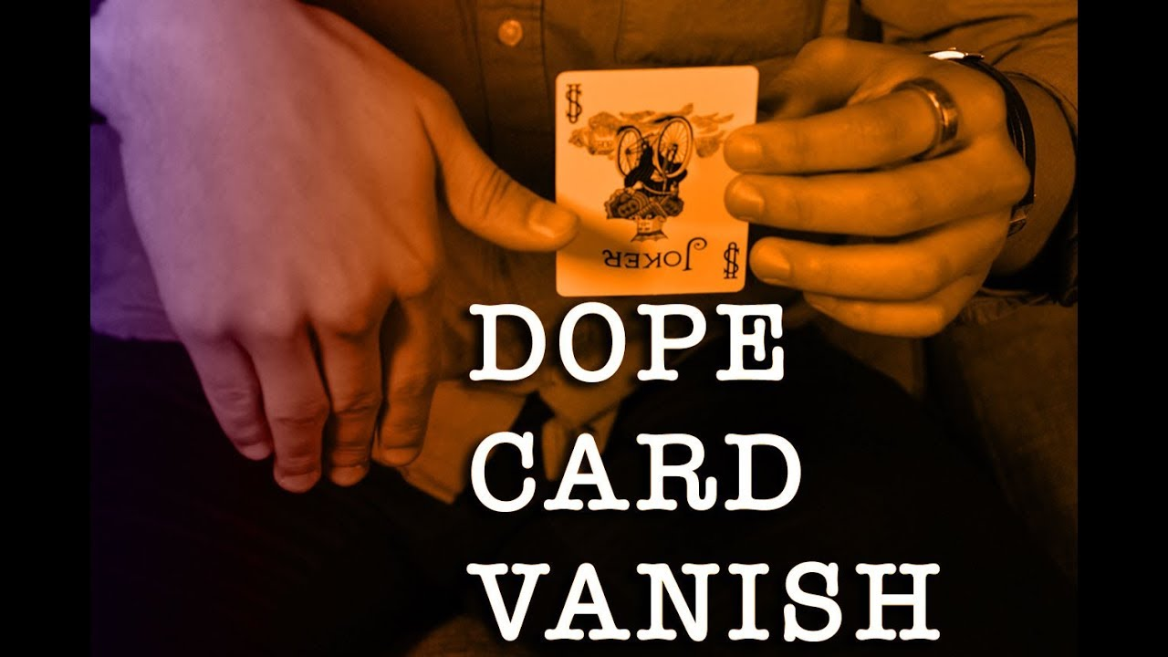 Make A Card Vanish Xavior S Stolen Card Dissapearance