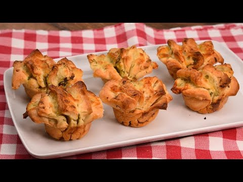 Herbs muffin how to make them fluffy and delicious
