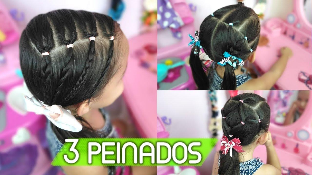 Peinados Para Ninas Peinados Para La Escuela May Lopez Youtube