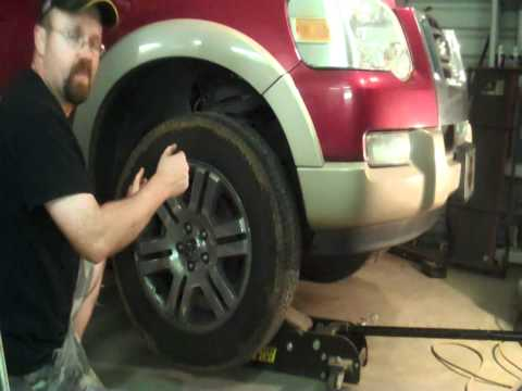 Front Suspension & Steering Inspection