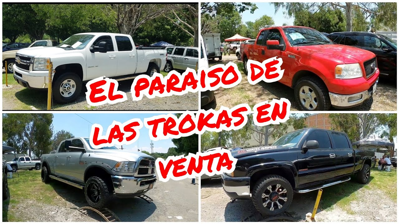 Camionetas de trabajo chevrolet ford Ram tianguis de autos usados trucks for sale pickup 4x4 dinero