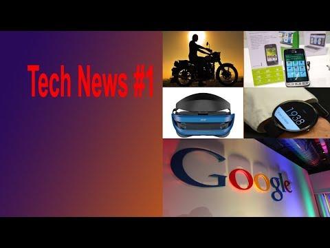 Tech News #1-Learn Today's 5 Big Stories-Facebook-Google-Acer-NFG Bike