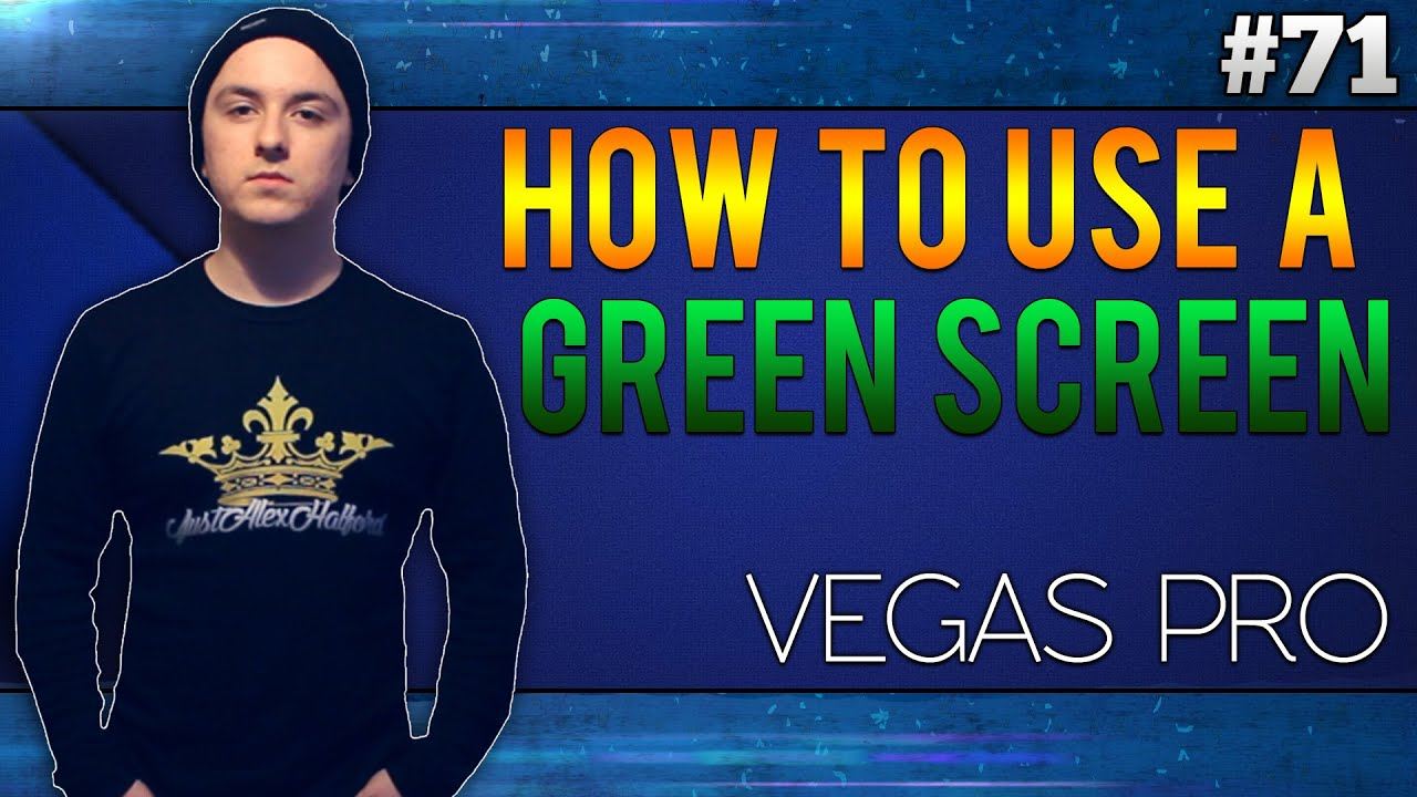 Sony Vegas Pro 13 How To Use Your Green Screen Tutorial 71