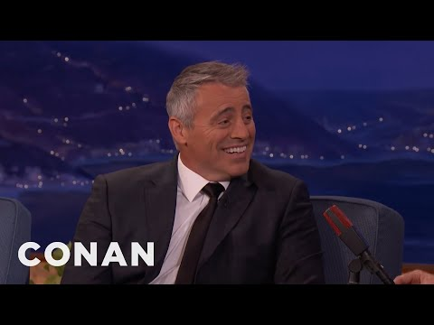 Matt LeBlanc: Courteney Cox Is A Car Nut   CONAN on TBS