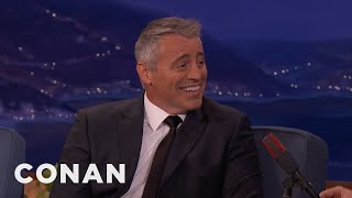 Matt LeBlanc: Courteney Cox Is A Car Nut  - CONAN on TBS