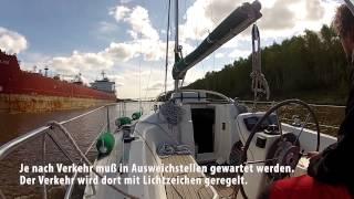 Segeln: Mit Carpe Diem durch den Nord-Ostsee-Kanal (NOK)