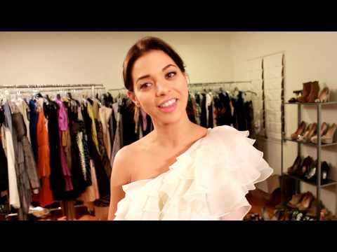 Help Gia Mantegna, Miss Golden Globe, Select the Perfect Dress