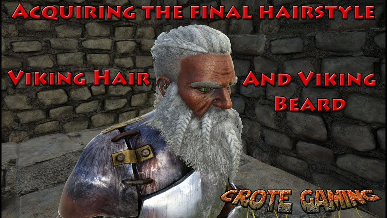Acquiring The Viking Hair And Viking Beard Ark Survival Evolved