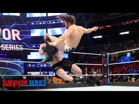 Daniel Bryan floors The Beast with a vicious Running Knee: Survivor Series 2018 (WWE Network)