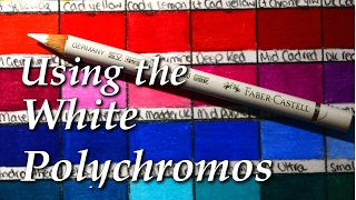 How I use the White Polychromos Pencil