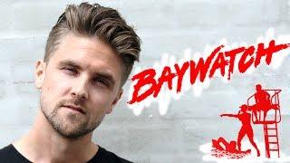 Zac Efron Baywatch Hairstyle - Mens Hair Inspiration 2017 - Undercut Tutorial