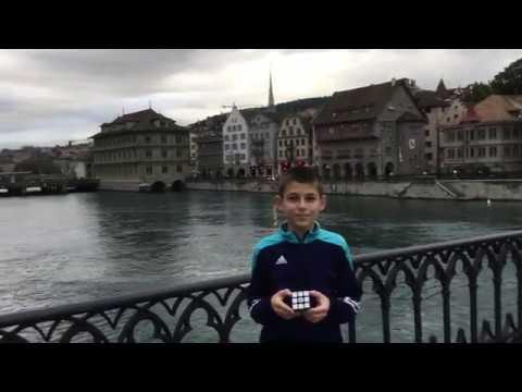 Solving the Rubiks Cube in Zurich Switzerland Swisscubing