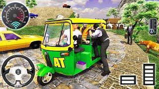 Offroad Tuk Tuk Driving Simulator Free Game 2021   Auto Rakshaw Drive – Android Gameplay screenshot 5