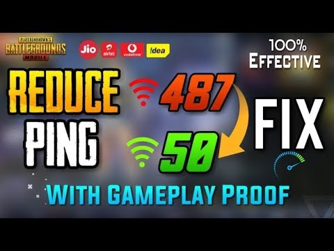 Permanent Fix Pubg High Ping and Lag Problem || PUBG Mobile ping in Asia Server (100% working)