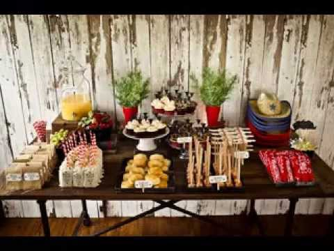 DIY Western theme party decorating ideas & DIY Western theme party decorating ideas - YouTube