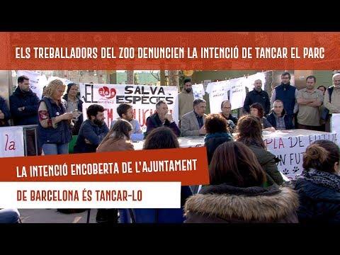 Els treballadors del Zoo denuncien la intenció de l'Ajuntament de Barcelona de tancar el parc