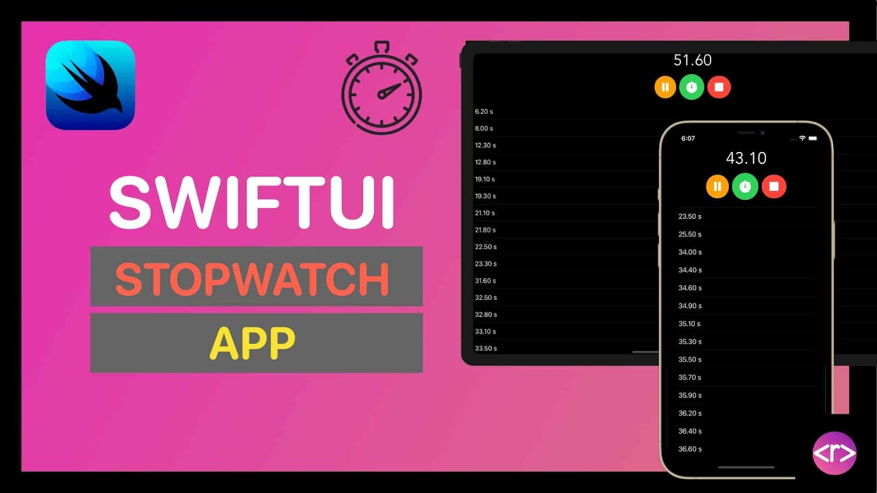 Build a Stopwatch app with SwiftUI