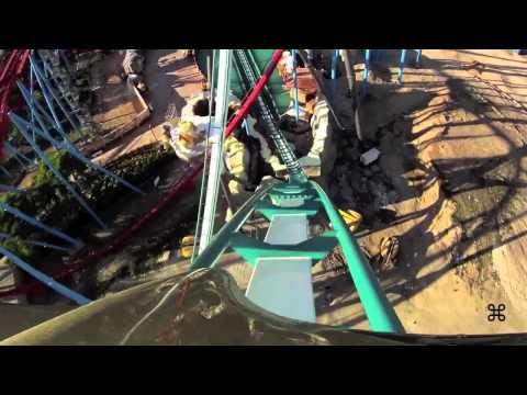 Shambhala HD POV new B&M Hypercoaster PortAventura 2012 and offride