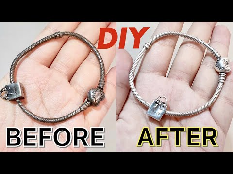How to Clean your Pandora Silver Jewelry |  bag talks by anna